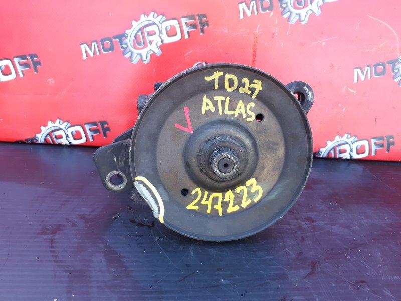 Насос гидроусилителя Nissan Atlas P4F23 TD27 1992 (б/у)