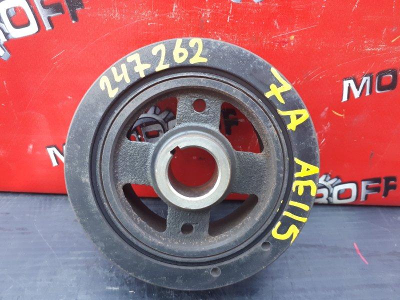 Шкив коленвала Toyota Sprinter AE110 5A-FE 1995 (б/у)