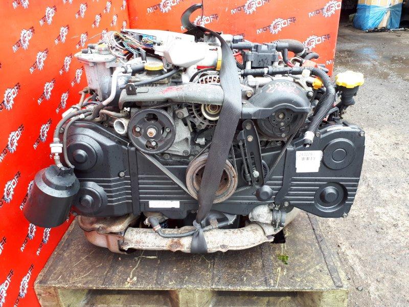 Двигатель Subaru Forester SF5 EJ20-T 2000 (б/у)