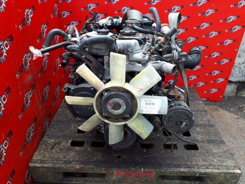 Двигатель Nissan Caravan ARME24 TD27 1986 (б/у)