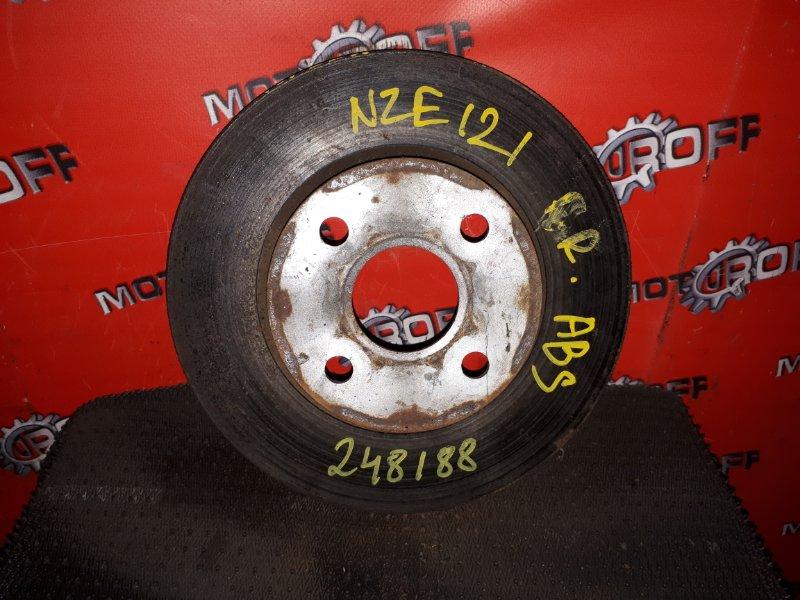 Диск тормозной Toyota Corolla NZE121 1NZ-FE 2000 передний (б/у)