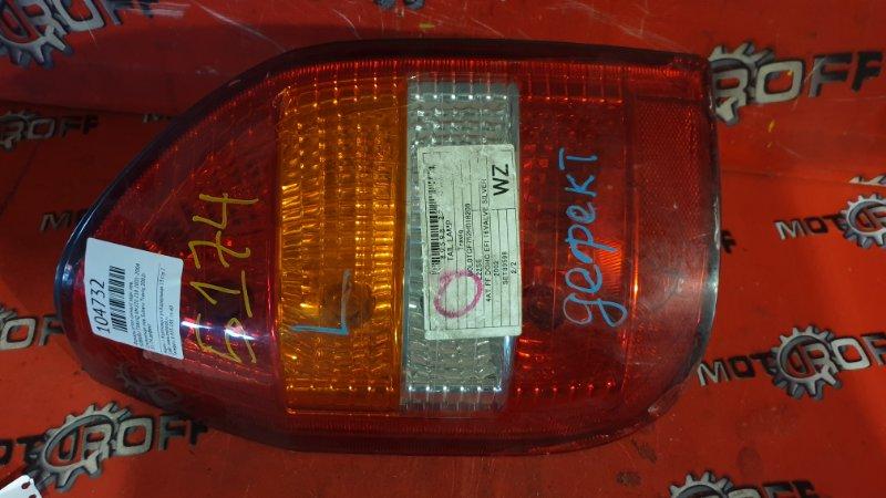 Фонарь (стоп-сигнал) Subaru Traviq XM220 Z18 2001 задний левый (б/у)
