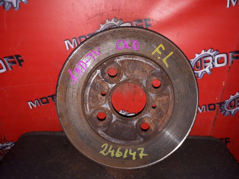 Диск тормозной Toyota Probox NCP50V 2NZ-FE 2002 передний (б/у)