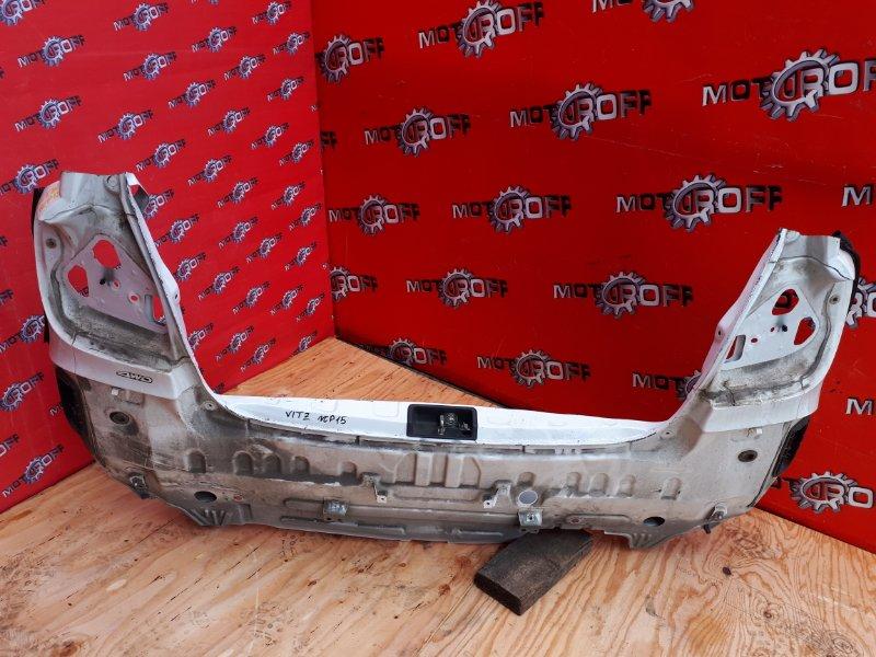 Задняя панель кузова Toyota Vitz NCP10 2NZ-FE 1999 задняя (б/у)