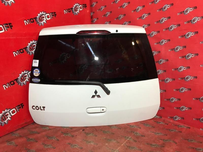 Дверь задняя багажника Mitsubishi Colt Z27A 4G15 2002 задняя (б/у)