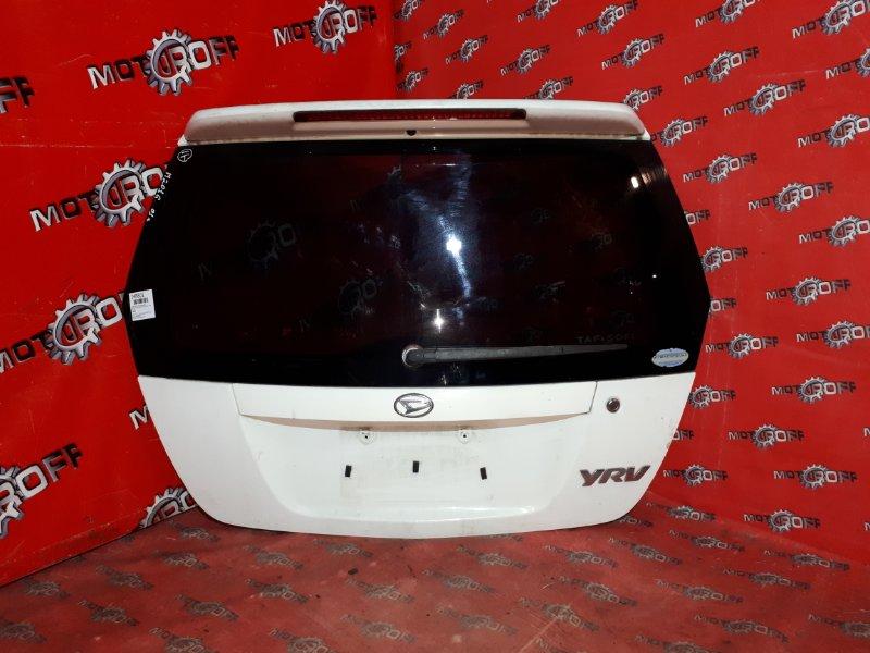 Дверь задняя багажника Daihatsu Yrv M201G K3-VE 2000 задняя (б/у)