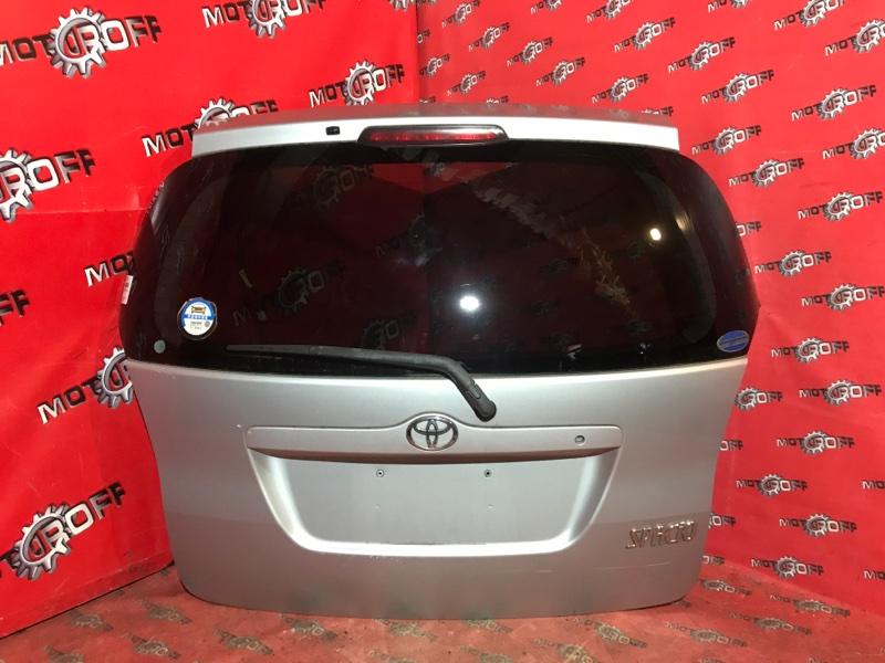 Дверь задняя багажника Toyota Corolla Spacio NZE121N 1NZ-FE 2001 задняя (б/у)