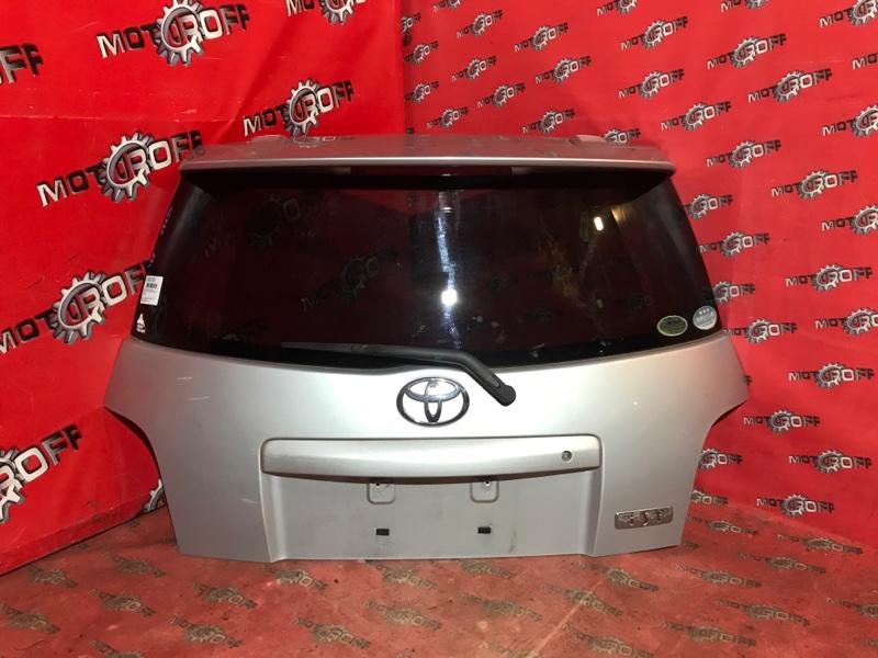 Дверь задняя багажника Toyota Ist NCP60 2NZ-FE 2002 задняя (б/у)