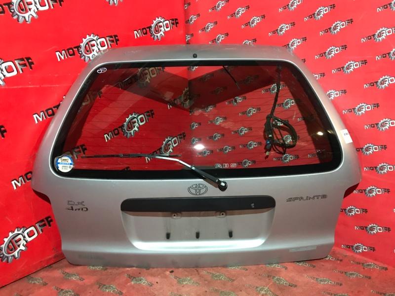 Дверь задняя багажника Toyota Corolla AE100G 5A-FE 1991 задняя (б/у)
