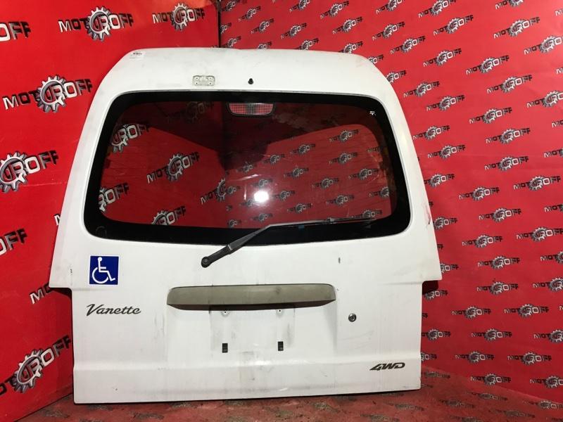 Дверь задняя багажника Nissan Vanette SK82 F8 1999 задняя (б/у)