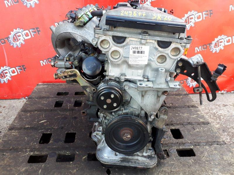 Двигатель Nissan Avenir PW10 SR20DE 1990 (б/у)