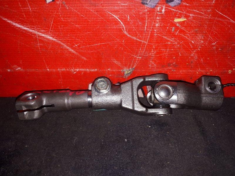 Кардан рулевой Toyota Allion ZZT240 1ZZ-FE 2001 нижний (б/у)