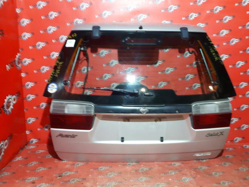 Дверь задняя багажника Nissan Avenir PW10 SR20DE 1990 задняя (б/у)