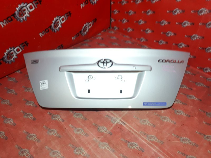 Крышка багажника Toyota Corolla NZE121 1NZ-FE 2000 задняя (б/у)