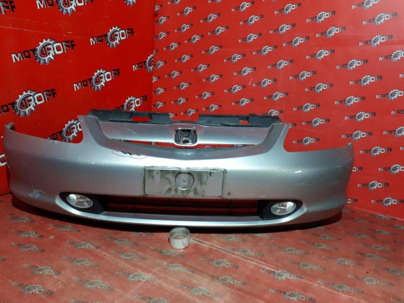 Бампер Honda Civic EU1 D15B 2000 передний (б/у)