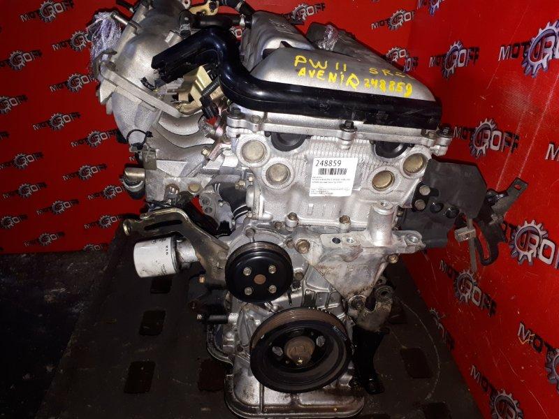 Двигатель Nissan Avenir PW11 SR20DE 1998 (б/у)
