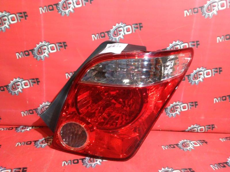 Фонарь (стоп-сигнал) Toyota Ist NCP61 1NZ-FE 2005 задний правый (б/у)