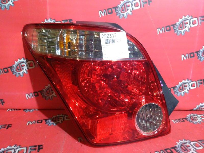 Фонарь (стоп-сигнал) Toyota Ist NCP61 1NZ-FE 2005 задний левый (б/у)