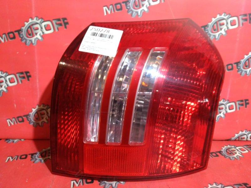 Фонарь (стоп-сигнал) Toyota Corolla Runx NZE121 1NZ-FE `2002 задний правый (б/у)