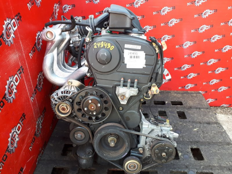 Двигатель Mitsubishi Colt Z27A 4G15 2002 (б/у)