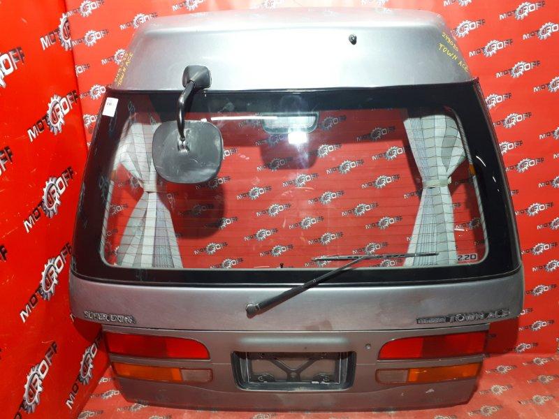 Дверь задняя багажника Toyota Town Ace CR22G 3C-TE 1992 задняя (б/у)