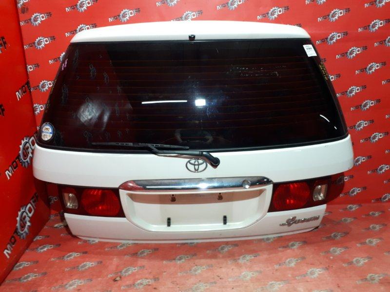 Дверь задняя багажника Toyota Ipsum SXM10G 3S-FE 1996 задняя (б/у)