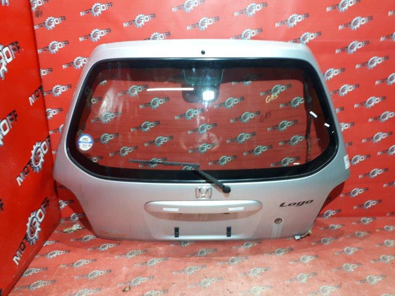 Дверь задняя багажника Honda Logo GA3 D13B 1996 задняя (б/у)
