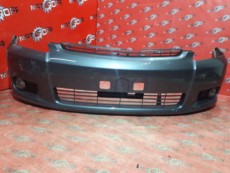 Бампер Toyota Wish ZNE14G 1ZZ-FE 2003 передний (б/у)