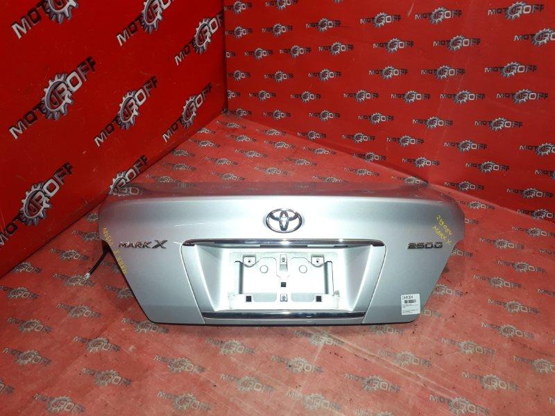 Крышка багажника Toyota Mark X GRX120 4GR-FSE 2004 задняя (б/у)