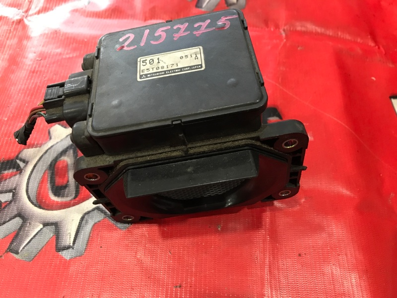 Расходомер (датчик расхода воздуха) Mitsubishi Rvr N64WG 4G64 1997 (б/у)