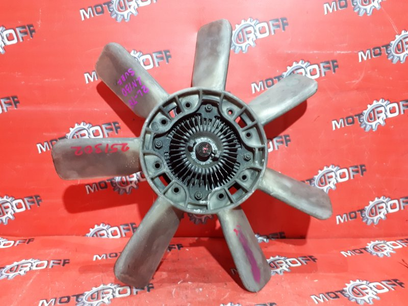 Вискомуфта вентилятора радиатора Toyota Hilux Surf LN130G 2L-TE 1989 (б/у)