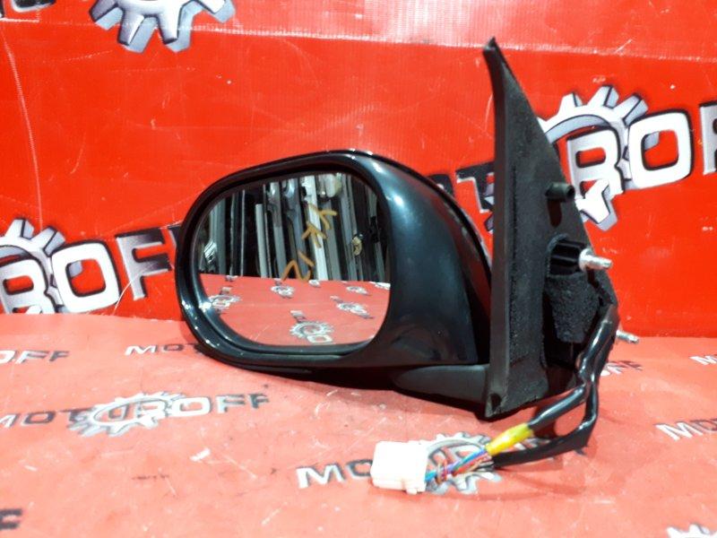 Зеркало боковое Nissan March YK12 HR15DE 2005 левое (б/у)