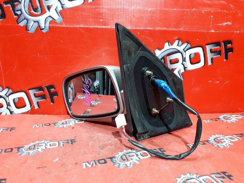 Зеркало боковое Toyota Vitz SCP10 1SZ-FE 1999 левое (б/у)