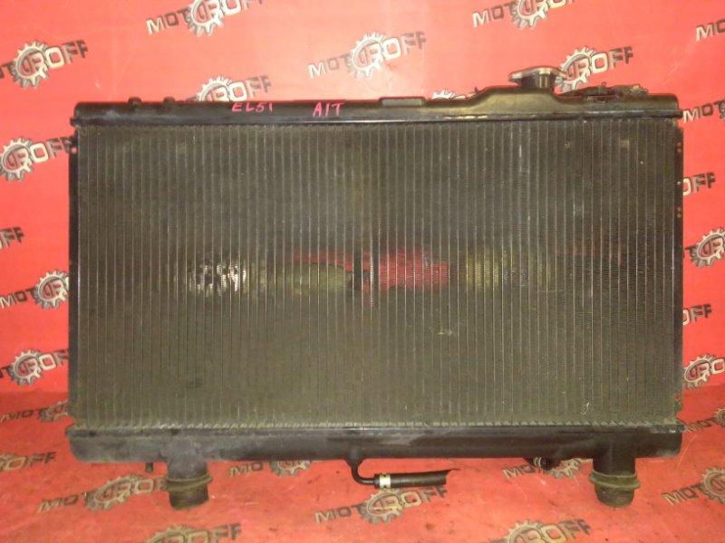Радиатор двигателя Toyota Tercel EL53 5E-FE 1994 (б/у)