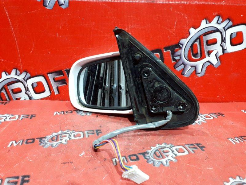 Зеркало боковое Nissan March K11 CG10DE 1992 левое (б/у)
