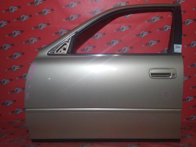 Дверь боковая Toyota Camry SV32 3S-FE 1990 передняя левая (б/у)