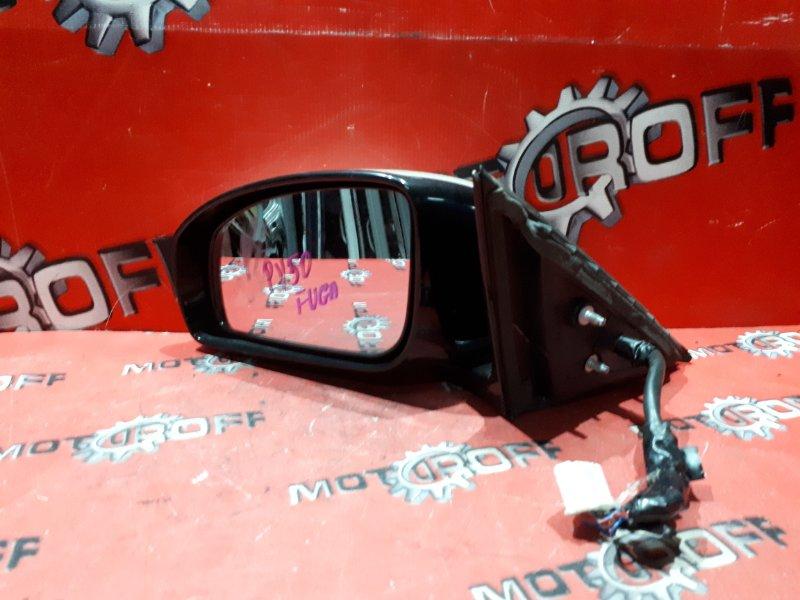 Зеркало боковое Nissan Fuga PY50 VQ35DE 2004 левое (б/у)