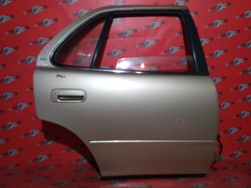Дверь боковая Toyota Camry SV32 3S-FE 1990 задняя правая (б/у)