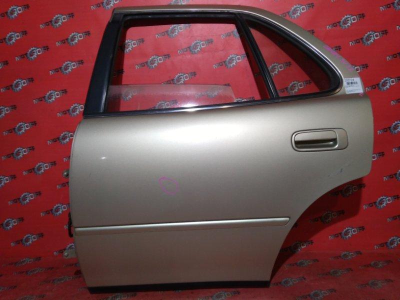 Дверь боковая Toyota Camry SV32 3S-FE 1990 задняя левая (б/у)