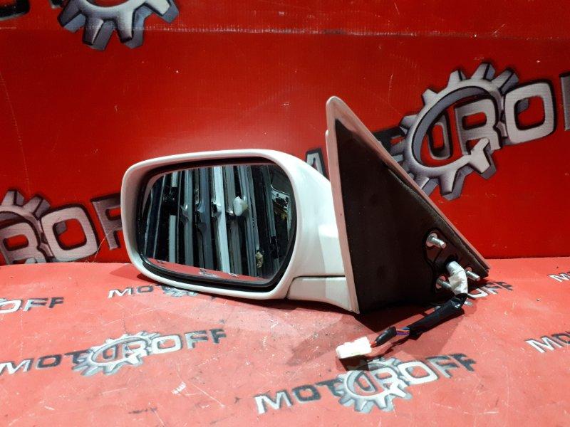 Зеркало боковое Nissan Laurel HC35 RB20DE 1997 левое (б/у)