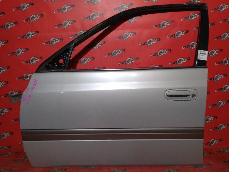 Дверь боковая Toyota Corona Premio AT210 4A-FE 1996 передняя левая (б/у)