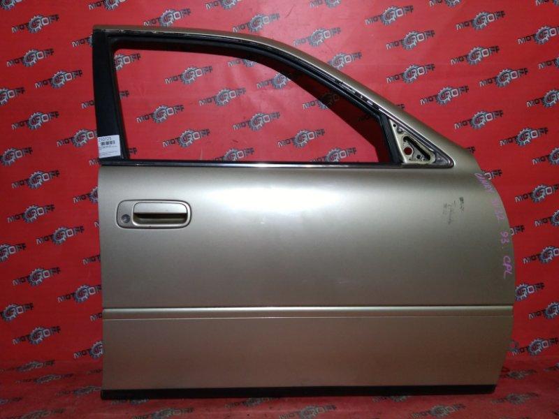 Дверь боковая Toyota Camry SV32 3S-FE 1990 передняя правая (б/у)