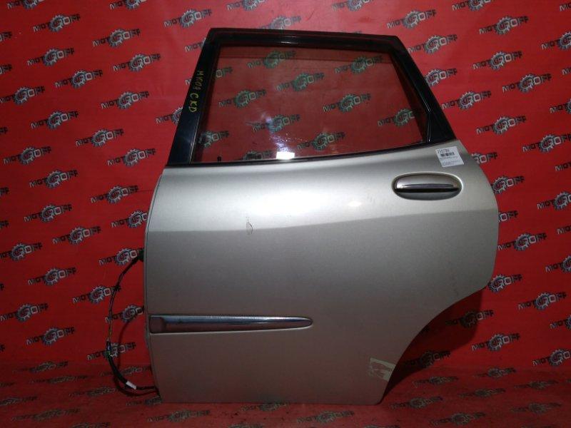 Дверь боковая Toyota Duet M100A EJ-DE 1998 задняя левая (б/у)