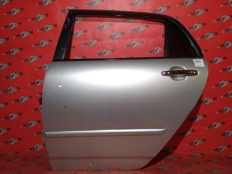 Дверь боковая Toyota Allex NZE121 1NZ-FE `2001 задняя левая (б/у)