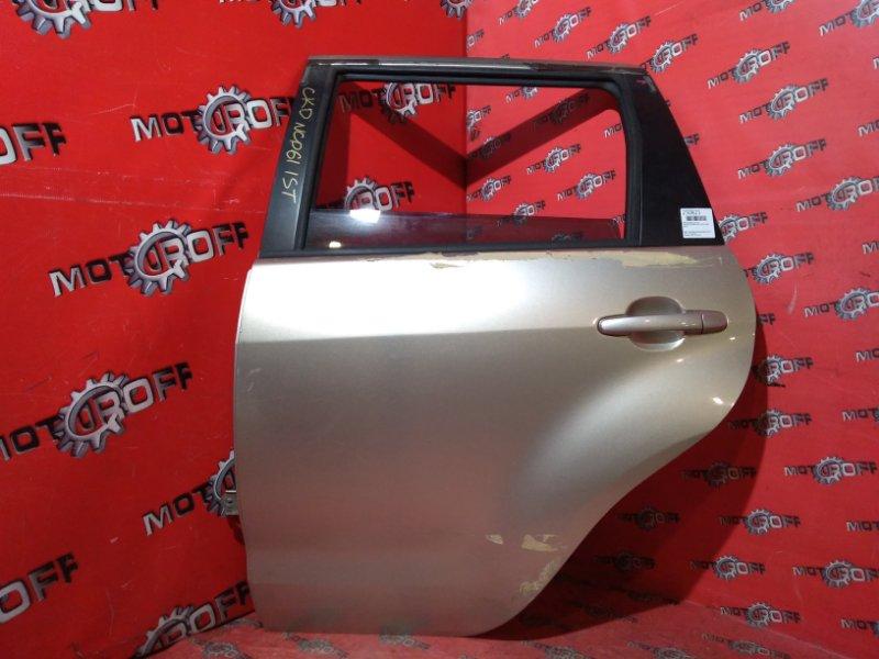 Дверь боковая Toyota Ist NCP61 1NZ-FE 2002 задняя левая (б/у)