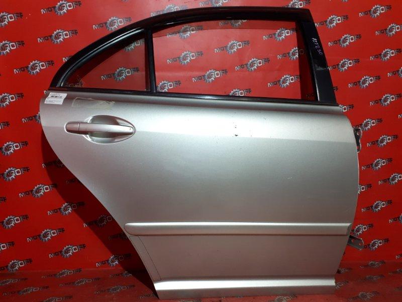 Дверь боковая Toyota Avensis AZT250 1AZ-FSE 2003 задняя правая (б/у)
