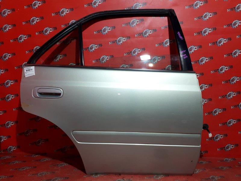 Дверь боковая Toyota Carina AT211 7A-FE 1998 задняя правая (б/у)