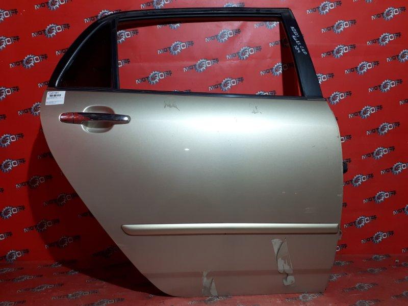 Дверь боковая Toyota Allex NZE121 1NZ-FE `2001 задняя правая (б/у)
