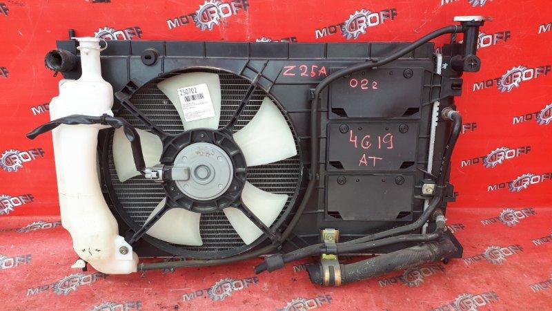 Радиатор двигателя Mitsubishi Colt Z25A 4G19 2002 (б/у)