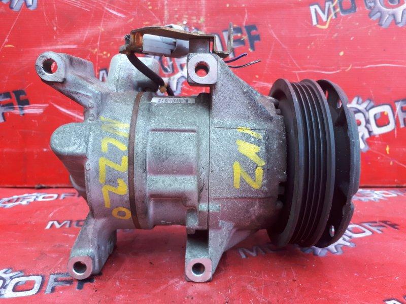 Компрессор кондиционера Toyota Raum NCZ20 1NZ-FE 2003 (б/у)